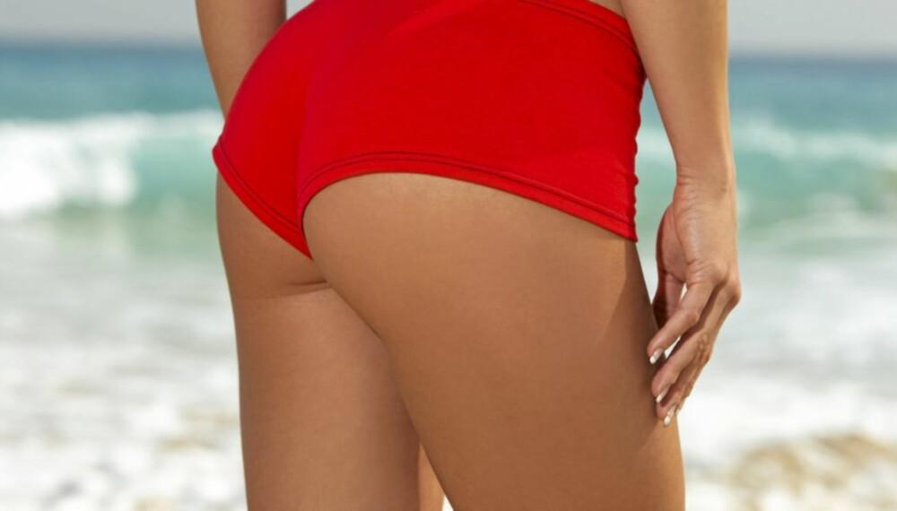 STRAM KROPP: Med dette tipset kan du få glattere og strammere hud.