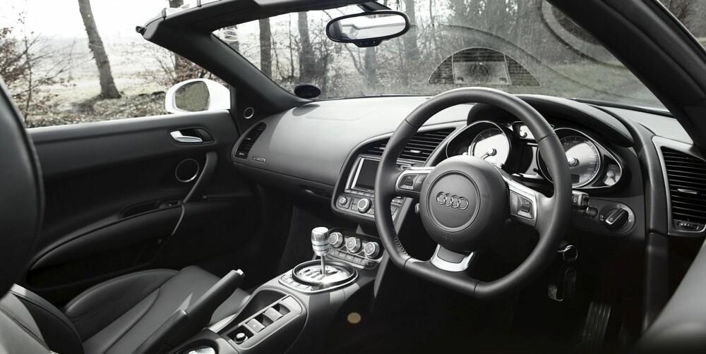 VELKJENT: Alle som har sett innsiden av en Audi tidligere vil kjenne seg igjen.