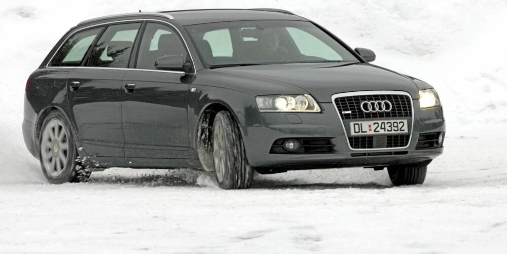 AVANT: Stasjonsvognsutgaven av Audi A6 er populær. Her en 2006-modell 2,7 TDI quattro