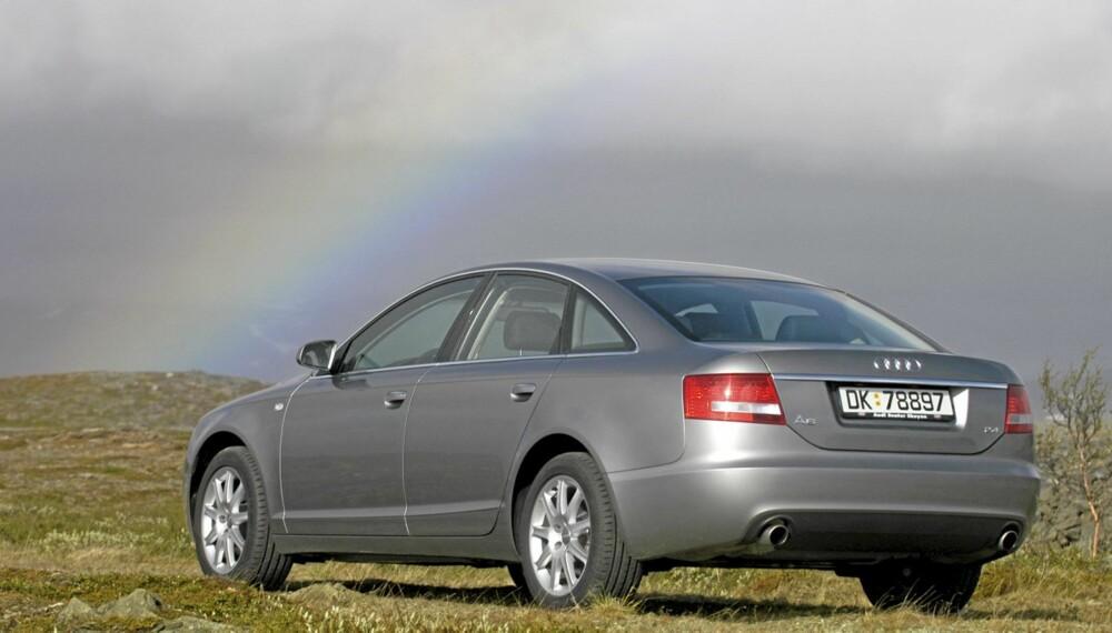 STIL: Klare, tidløse linjer preger denne utgaven av Audi A6.