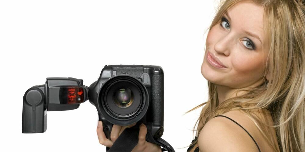 BILDER: Hvis du tar bilder av deg selv med jevne mellomrom, vil du se om forskjeller. Bilde i bikini mot hvit bakgrunn er best.
