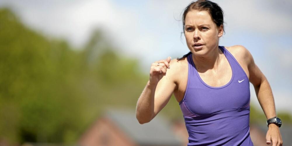 KONDISJON: Sett deg som mål å løpe en gitt distanse på en viss tid.