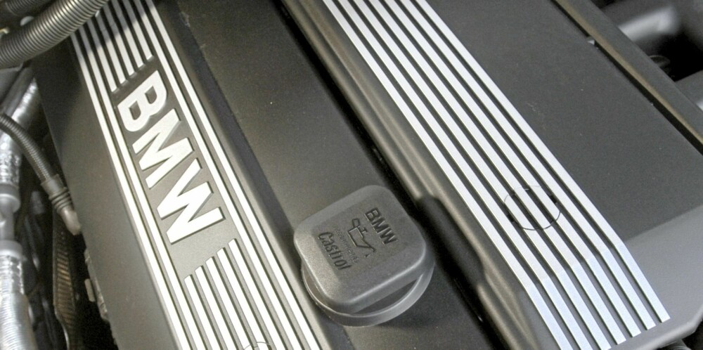 PERLE: De sekssylindrete BMW-motorene har en nydelig gange.