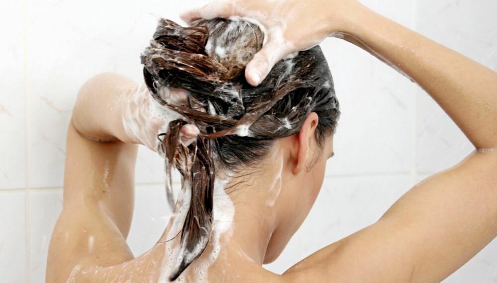 SLIK GJØR DU DET: Du kan få et helt nytt hår om du faktisk vasker det riktig. Få tips i saken under.