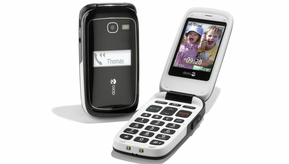 ELDRETELEFON: Doro PhoneEasy 615 egner seg bra for eldre, barn eller deg som bare vil ha en god telefon å ringe med.