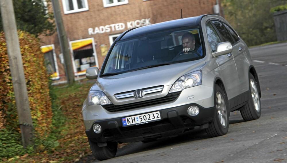 VINNER: Honda CR-V er en modell ekspertene forventer skal holde seg godt i pris i årene fremover. Foto: Egil Nordlien HM Foto