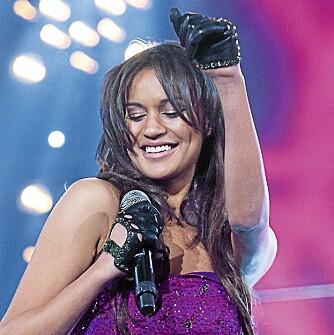 RASISME-ALLERGI: Mimi Blix ble kjent for det norske folk i årets «Melodi Grand Prix», hvor hun deltok med sangen «Allergic».