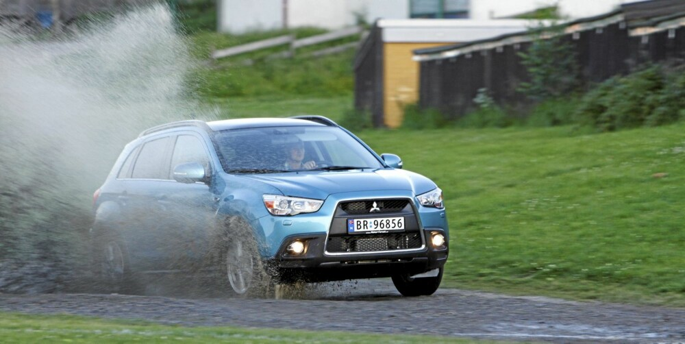 TRENDY SUV: Mitsubishi ASX er ifølge trendanalytiker Anders G. Hovde en trendy bil.