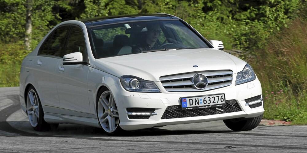 NY MODELL: Salgstallene viser at nye og oppdaterte modeller selger bedre enn gamle. Mercedes C-klasse har hatt en stor økning sammenlignet med fjoråret.