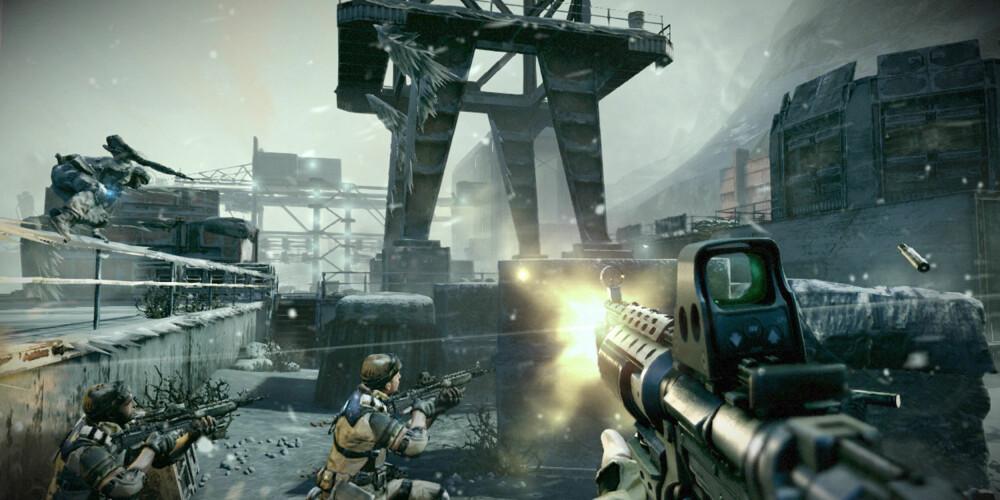 ONLINE-SPILL: Vi testet å spille på nett med flere spill, som Killzone 3. Dette fungerte helt utmerket.