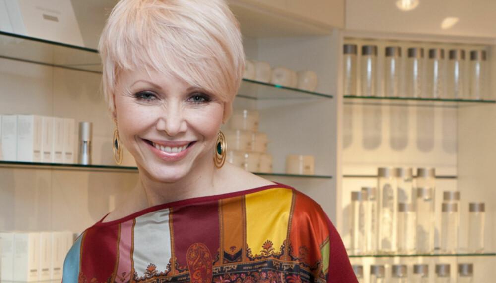 SKJØNNHETSDRONNING: Linda Johansen gir oss sine beste skjønnhetstips.