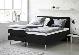 Elektrisk sengebunn gir litt luksus i hverdagen.