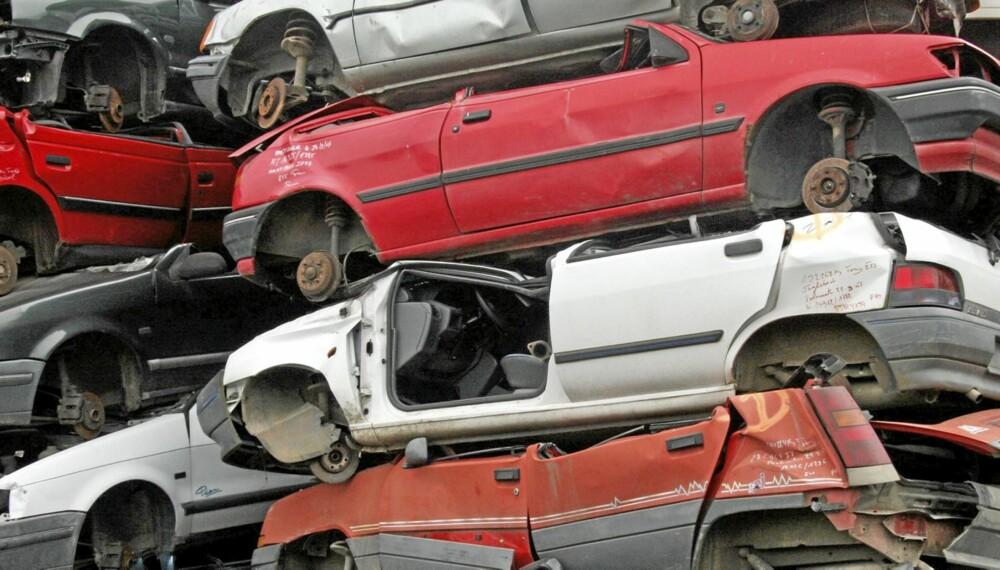 RYDDE OPP: Autoretur håper på å få inn 5000 bilvrak i høst. Illustrasjonsfoto: Colourbox.no