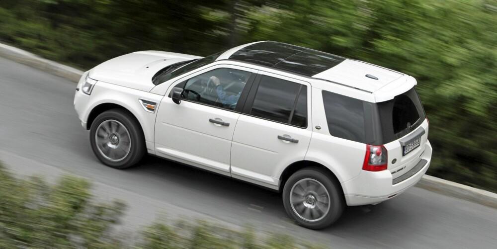 DÅRLIG: Land Rover kommer generelt dårlig ut, men den siste generasjonen Freelander er merkets mest pålitelige modell. Dårligst er dagens Range Rover.