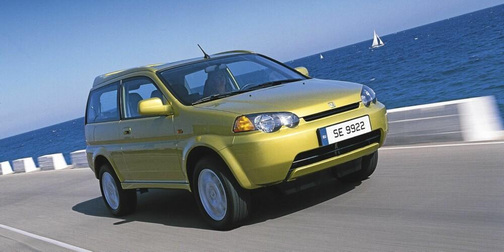BEST: Honda HR-V er bilen som gjør det aller best i undersøkelsen. Den ble produsert mellom 1998 og 2006.