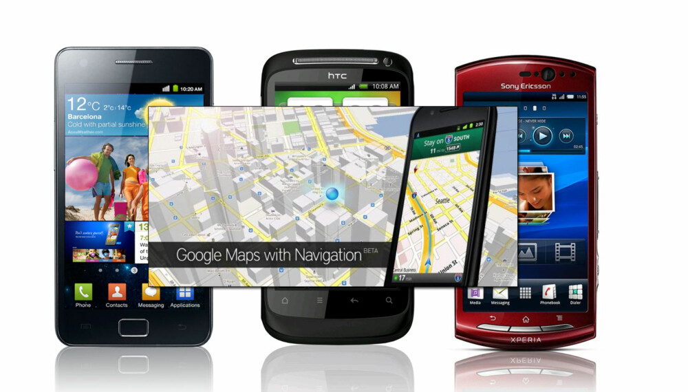 GRATIS GPS: Google Maps Navigation er et gratis navigasjonsprogram som fungerer på de fleste Android-telefoner.