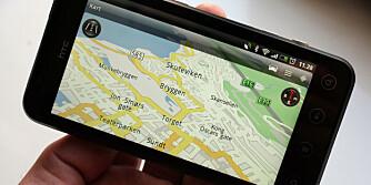 GPS: Med stor skjerm og navigasjonsprogramvare finner du frem.