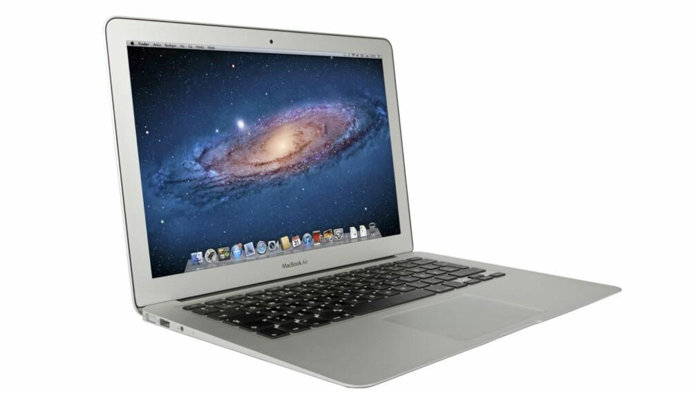 SSD: MacBook Air fås kun med SSD, og gjør underverker for responstiden og opplevd hastighet. Hvis du ikke trenger så mye plass som 256 GB, finnes 128 GB-modellen til 10.290 kroner.