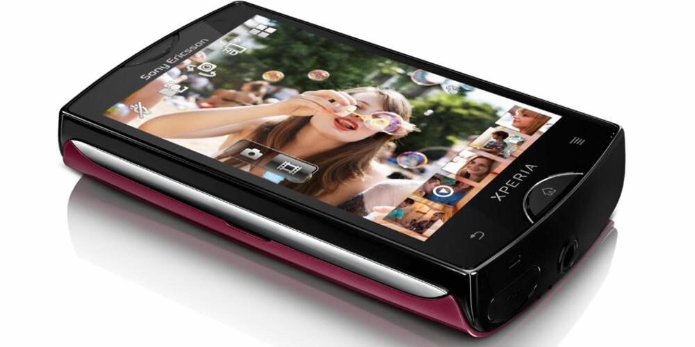 SJARM: Xperia Mini er en liten sjarmør fra Sony Ericsson.