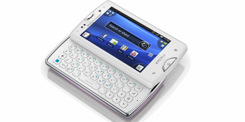 PROFF: Xperia Mini Pro har fulltastatur og trykkskjerm - og et lommevennlig format.