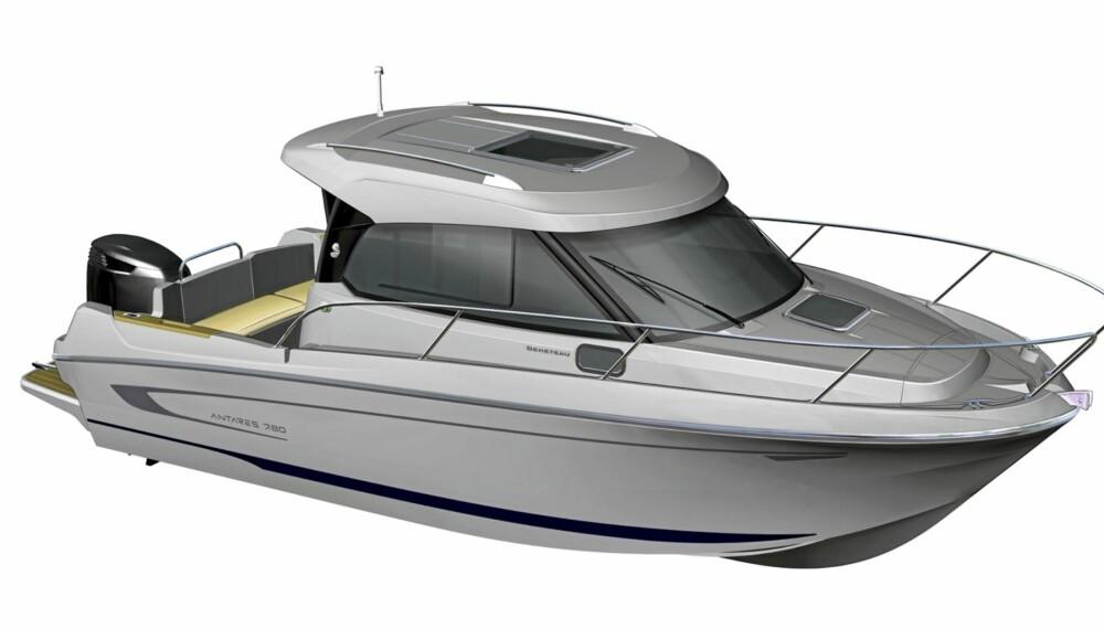 NYHET: Antares 7.80 skal vises frem på båtmessa Båter i sjøen neste helg.