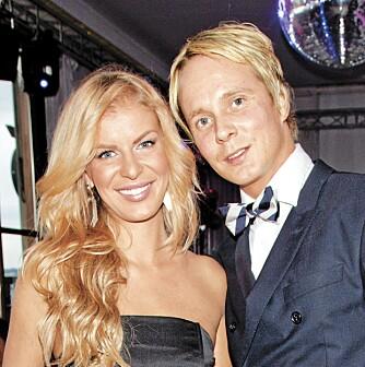 BLIDE FOLK: Petter Pilgaard og Mari Haugersveen var som vanlig i festhumør.