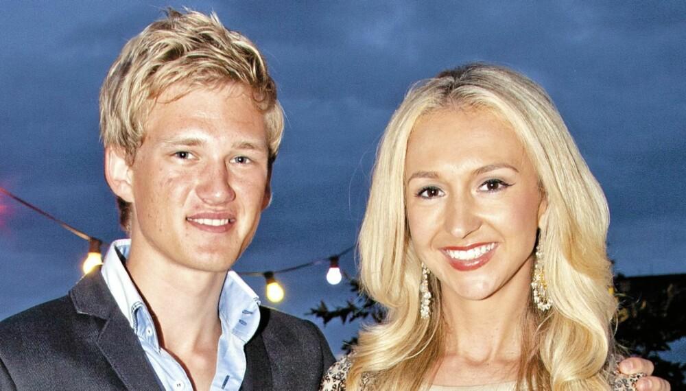 NY BROR: Pia Haraldsen gleder seg over at Jan Tore er blitt en av familien.