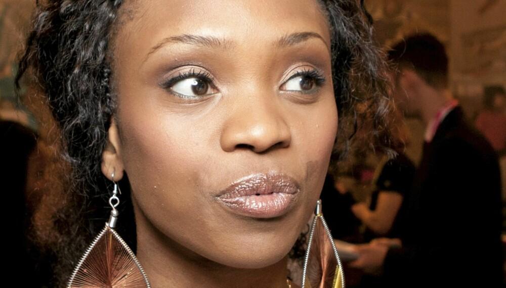 FØLER AVSKY: Stella Mwangi ønsker ikke å bruke tid på massemorderen fra Oslo- og Utøya-tragedien. Hun bruker i stedet energien på ofrene.