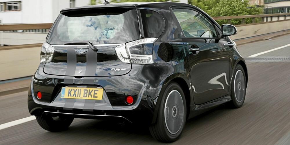 BYTTET UT IQ: Bortsett fra taket er alle deler i karosseriet til Aston Martin Cygnet nye. FOTO: Aston Martin