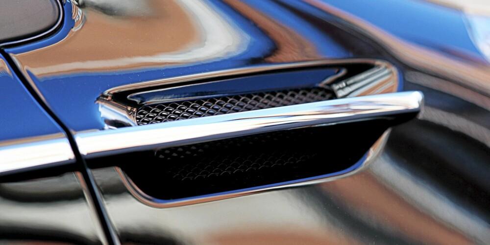 IQ-BOOST: Ekstra lufting er neppe nødvendig, men ser bra ut. FOTO: Aston Martin