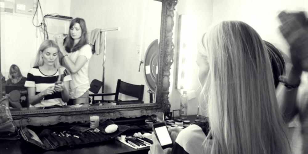 BRUSE-HÅR? Camilla Pihl representerer alle oss med nordisk, brusete hår i Define-reklamene.