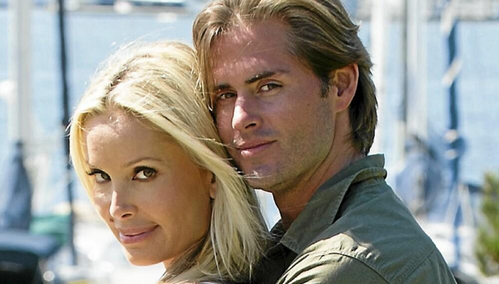 SAMMEN IGJEN: Monica og kjæresten Loren går ofte en tur i den idylliske båthavnen i Maria Del Ray, hvor det ligger tusenvis av båter, fra joller til luksusyachter.