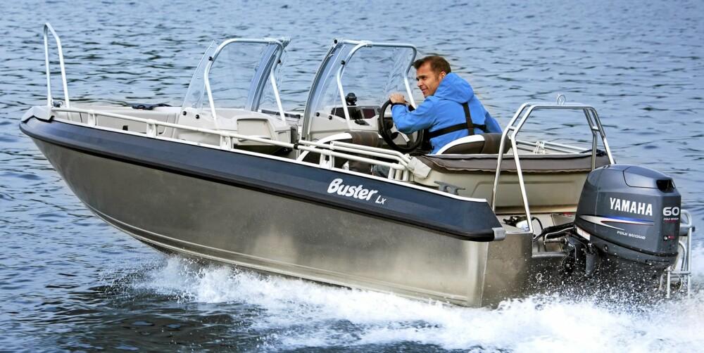 FAVORITT: En ny versjon av favorittbåten Lx er også på plass.