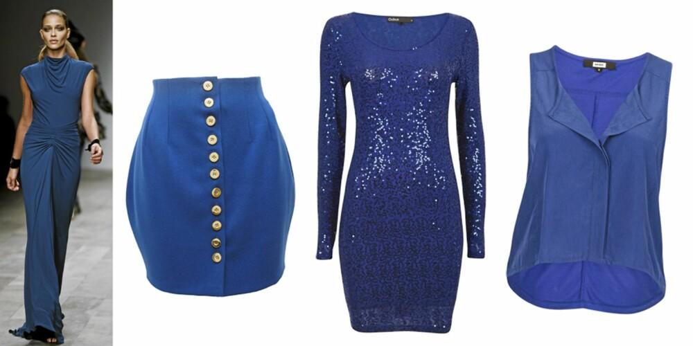 FRA VENSTRE: skjørt dea Asos (kr 263), kjole fra Cubus (kr 399), bluse fra Bik Bok (kr 299).
