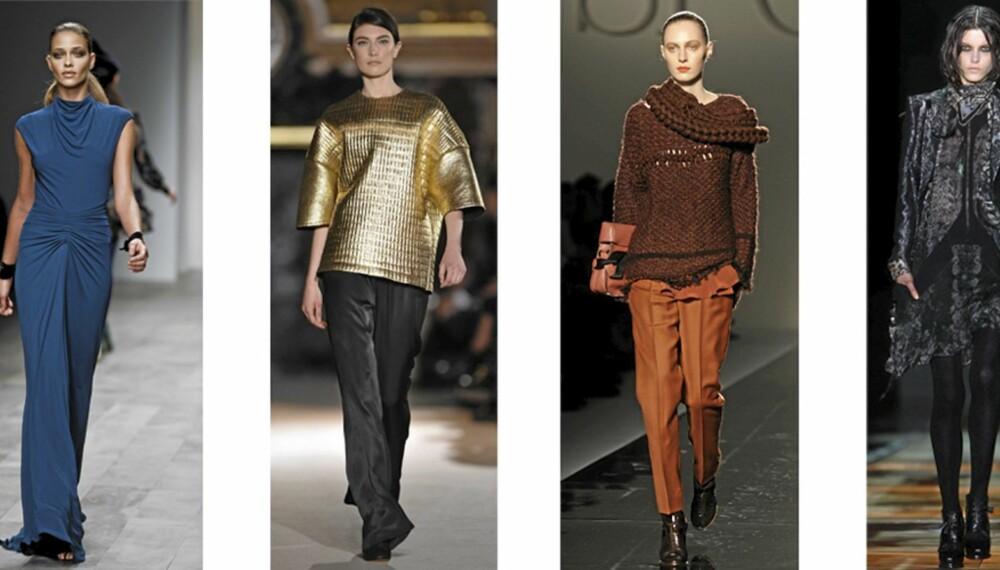 CATWALK: Det var mange spennende trender å spotte på høstens catwalker.