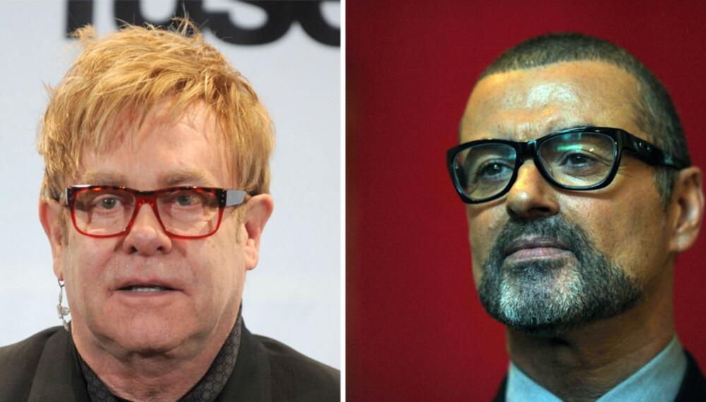De godt voksne popstjernene sir Elton John og George Michael har valgt  å fronte en ny organisasjon for homofiles rettigheter i tidligere britiske kolonier.