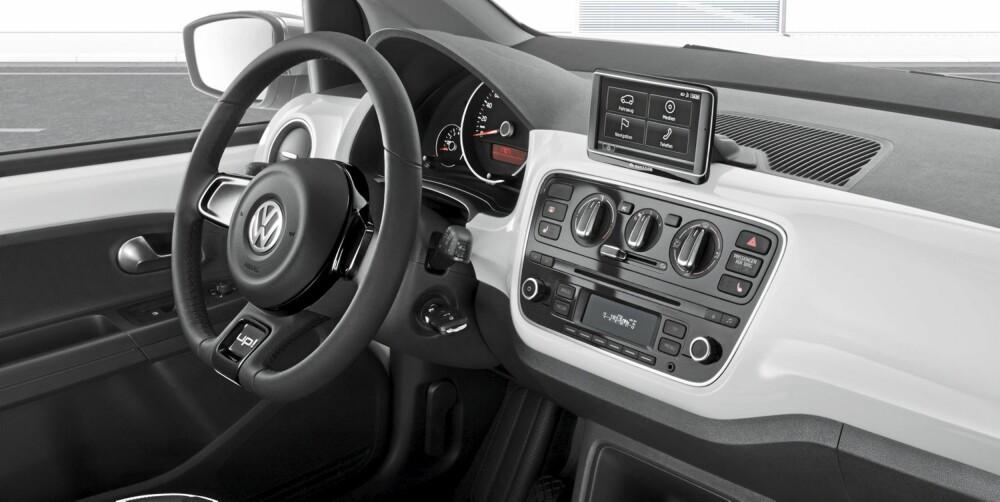 VELKJENT: Til tross for at dette er en helt ny modell, er det ikke vanskelig å se at det er en Volkswagen.