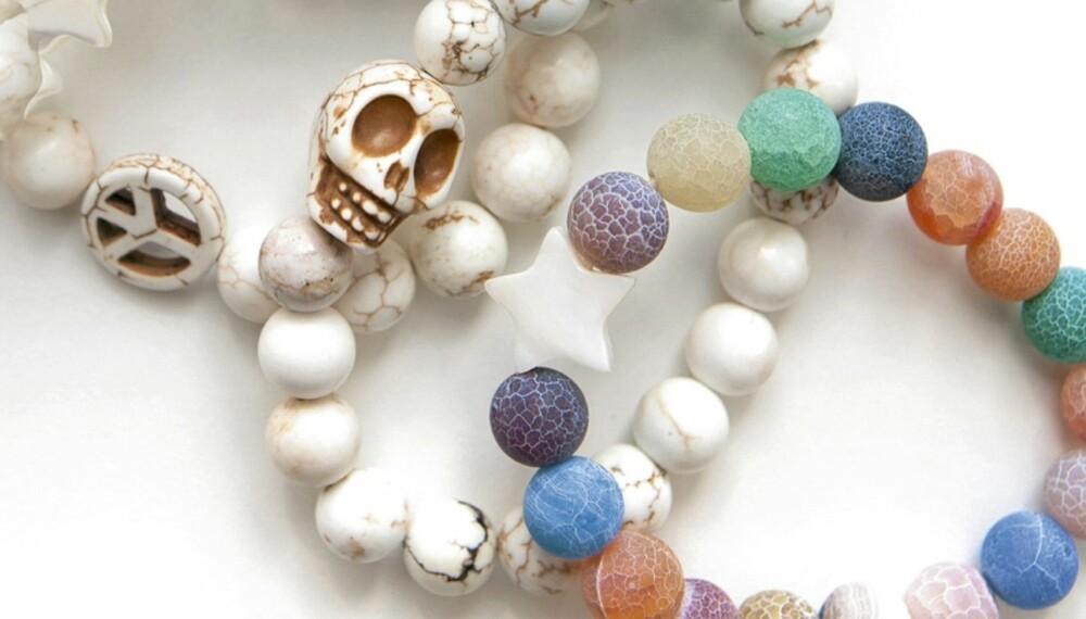 GLAD I SKALLER: Hodeskallen er et bærende element i smykkedesignet til  Love Stones. Den er også en gjenganger hjemme hos gründer Lisbeth Omdal Fure.