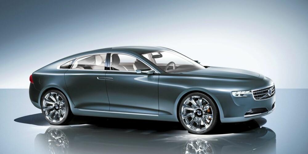 LUKSUSBIL: Volvos Concept You hinter om hvordan en S80-etterfølger vil bli seende ut.
