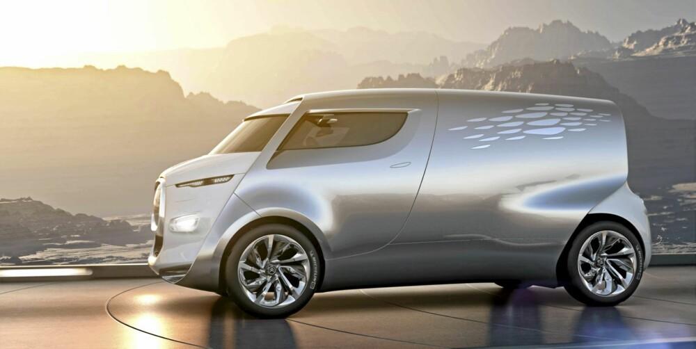 FAMILIEFRAKTER: Citroën Tubik har plass til både mine, dine og våre.