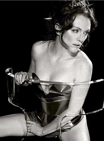 2011: Den amerikanske skuespillerinnen Julianne Moore var med i 2011-utgaven. © Karl Lagerfeld