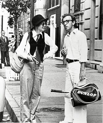 Diane Keaton i Woody Allen-filmen, Annie Hall, er det perfekte eksemple på den überkule maskuline stilen.
