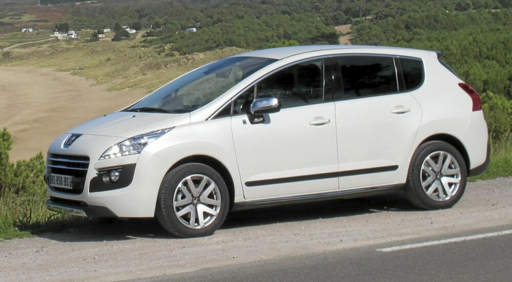 DIESEL: At akkurat Peugeot skulle bli første bilprodusent som bruker en elmotor for å redusere dieselforbruket, er ikke tilfeldig.