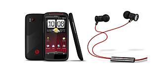 GODLYD: HTC samarbeider med Beats for å øke lydkvaliteten.