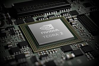 SYSTEMBRIKKE: Systembrikker som Nvidia Tegra 2 inneholder flere prosessorer og grafikkprosessorer. Neste år kommer det systembrikker med fire prosessorer.