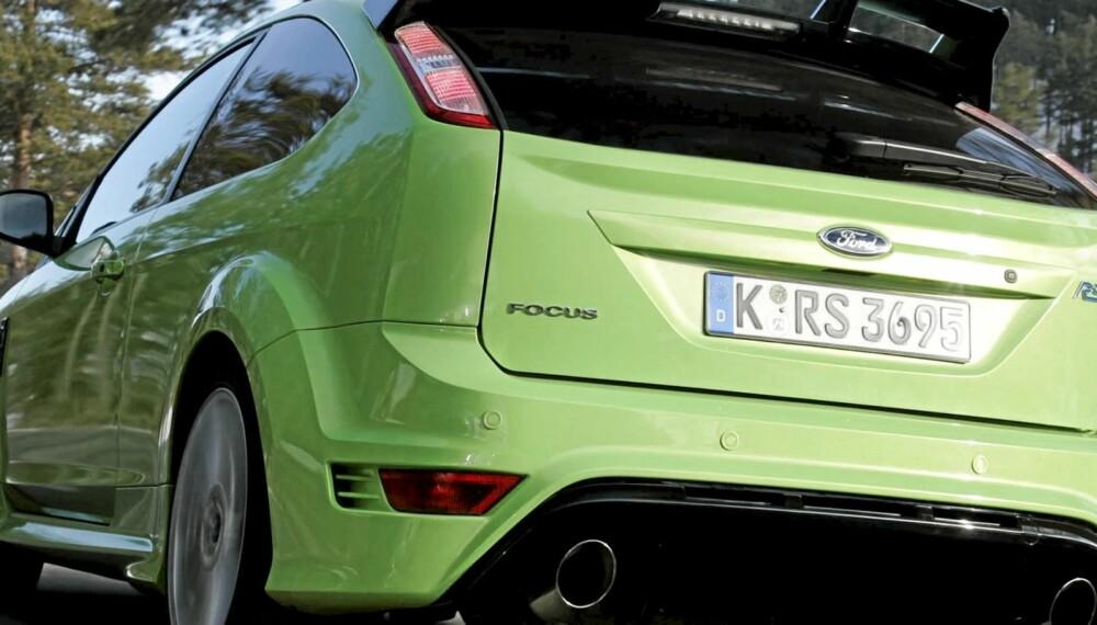 BILFORSIKRING: En Ford Focus RS er ingen billig bil å forsikre i Norge, men nå skal det snart bli lettere å finne ut hvilket selskap som kan tilby best pris.