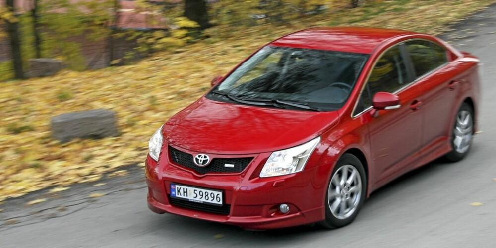 BEST: Toyota-eierne var de som hadde færrest innmeldte maskinskader i 2010.