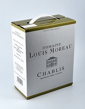 Louis Moreau Chablis passer bra til måltidet.