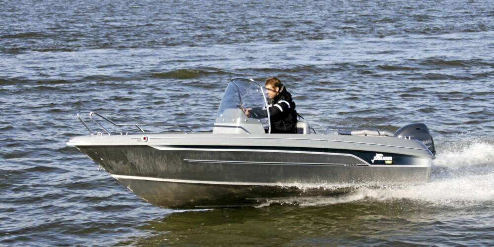 SENTER: Ny Yamarin 53 CC skal passe godt for fritidsfiske og transport.