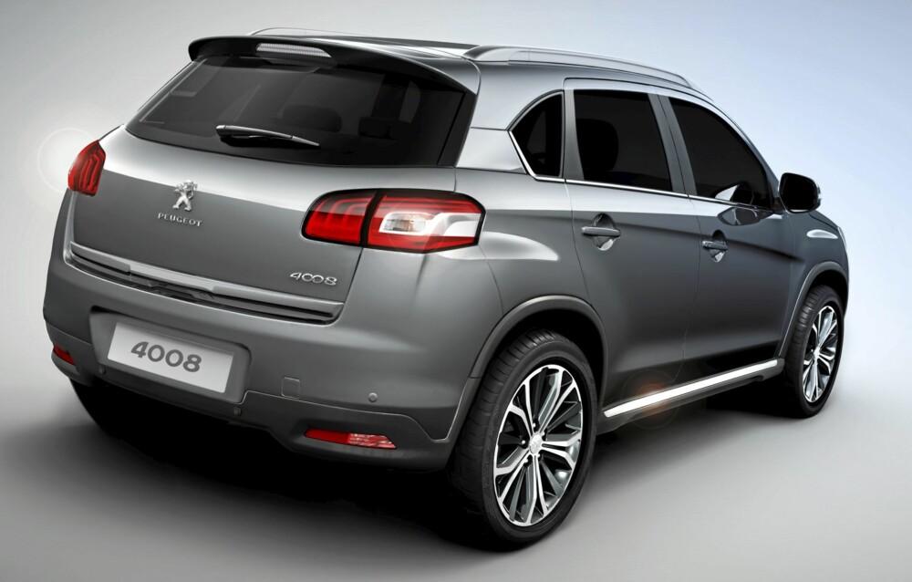 BESTSELGER: Peugeot regner med at 1.6 HDi med firehjulsdrift blir bestselgeren i Norge.